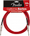 FENDER 10 CALIFORNIA CABLE CANDY APPLE RED