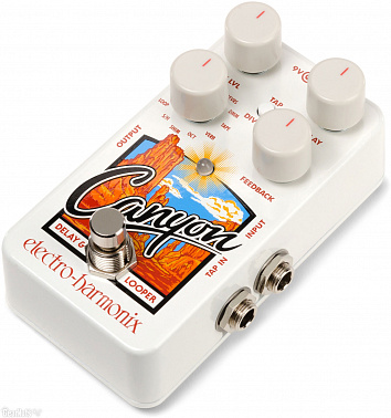 Гитарная педаль Electro-Harmonix Canyon Delay & Looper